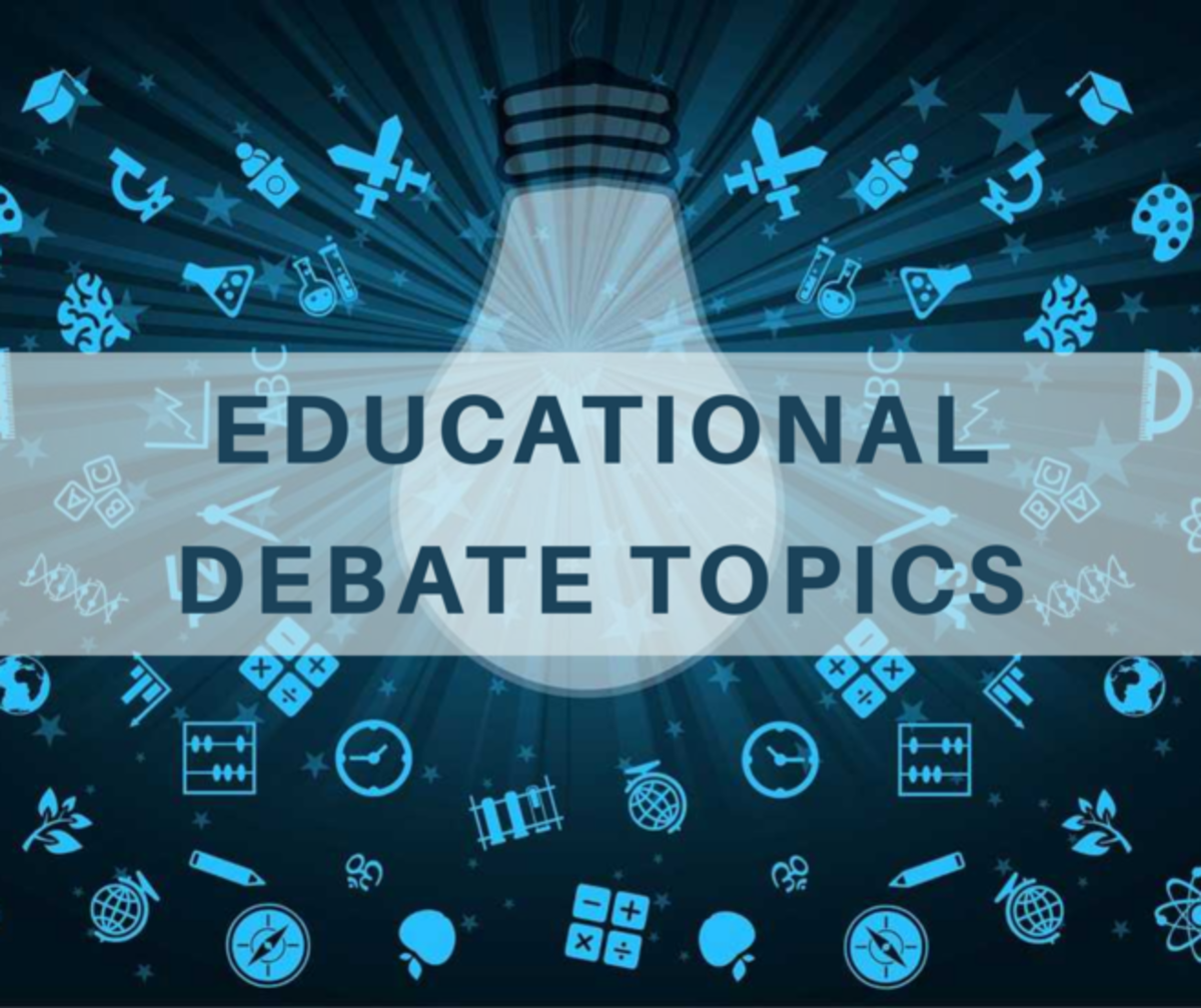 Topics under the category school, environment, science and technology are ideal for beginner-level debaters.