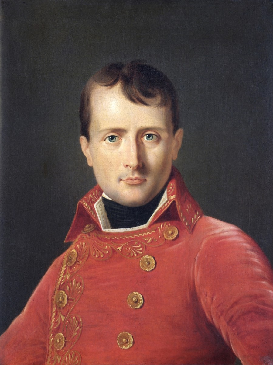 Napoleon Bonaparte- the French leader who regained ownership of the territory for France.