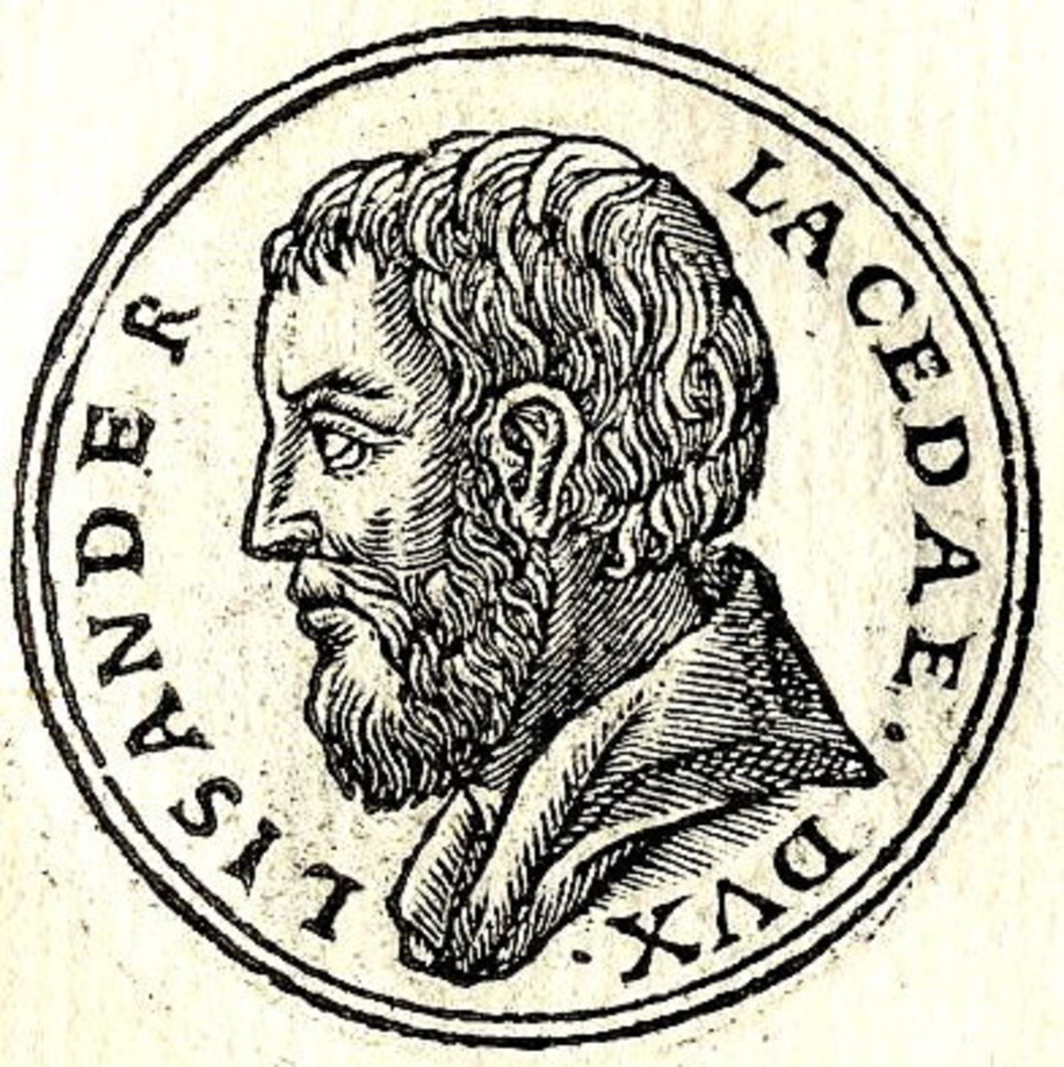 A 16th Century illustration of Lysander, one of Sparta's finest leaders.