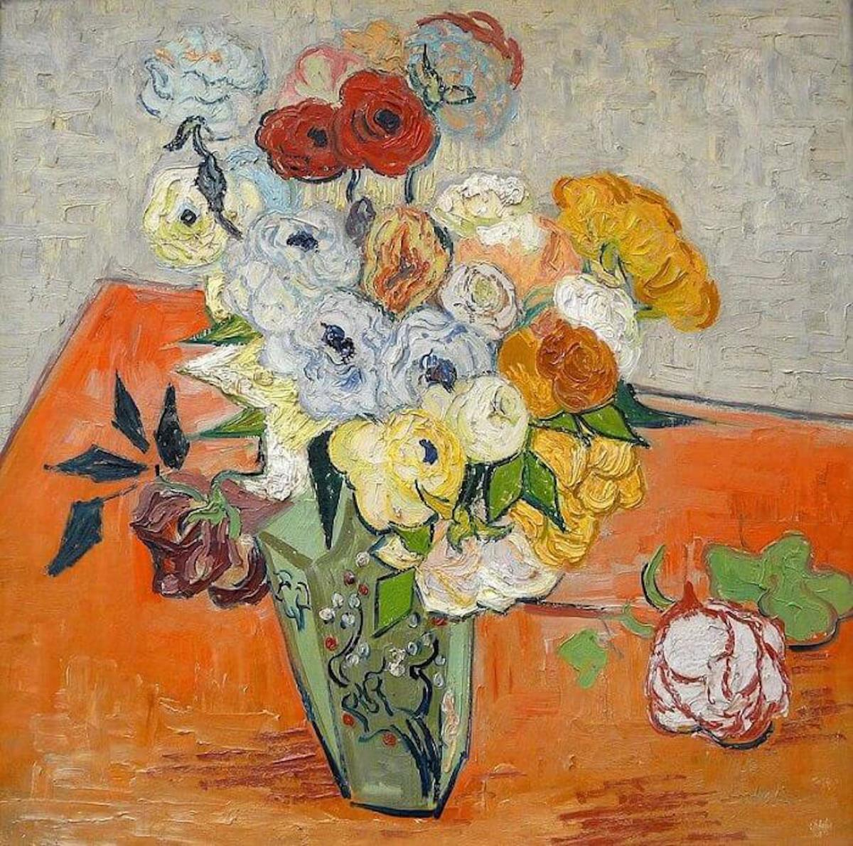 """Vincent van Gogh's """"Roses and Anemones"""""""