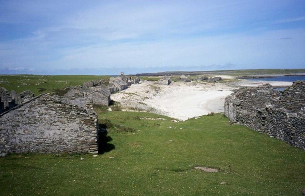 Abandoned Inishkea.