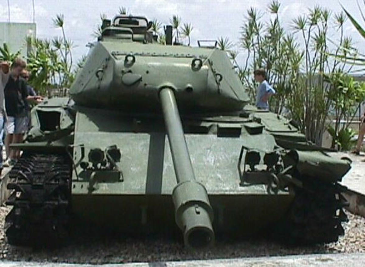 2nd Battalions' M-41 tank