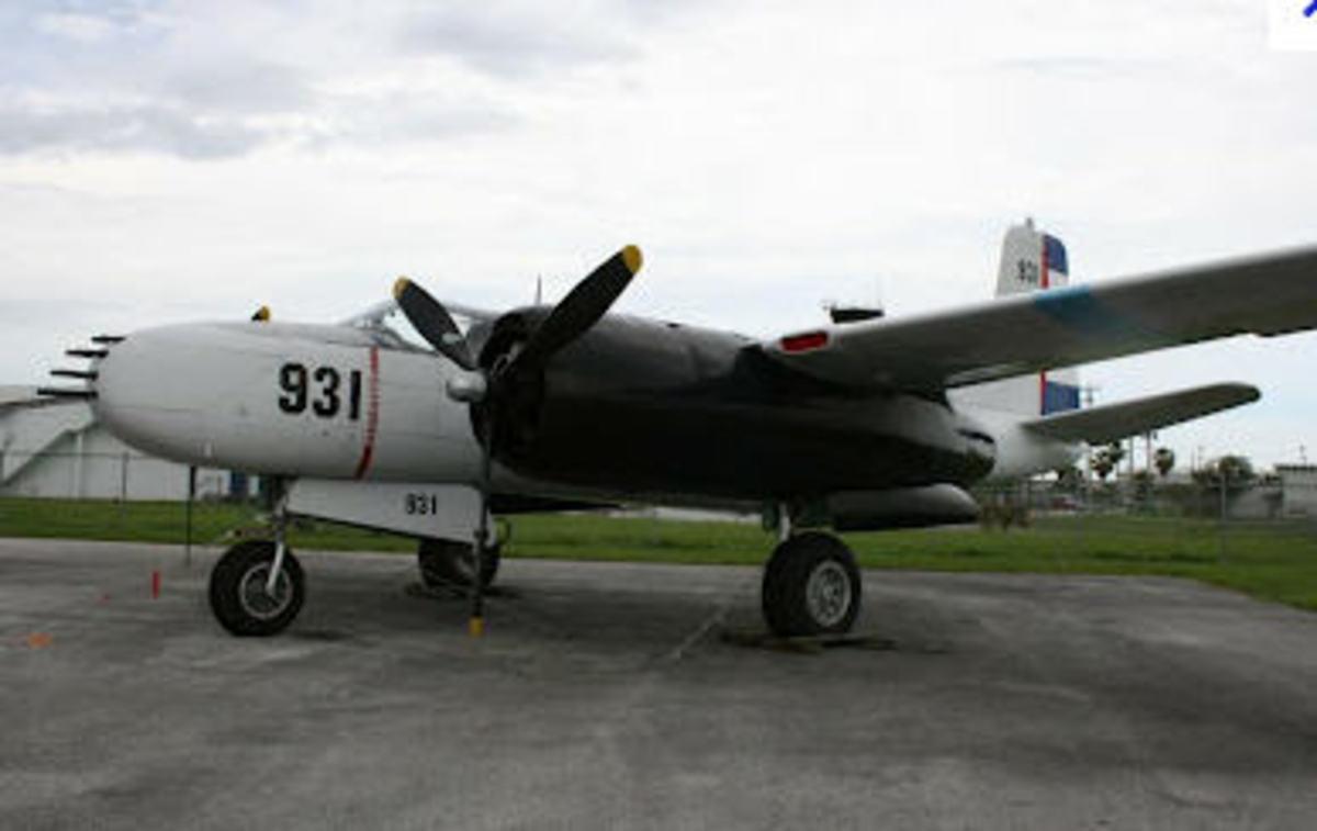 The B-26 Bomber