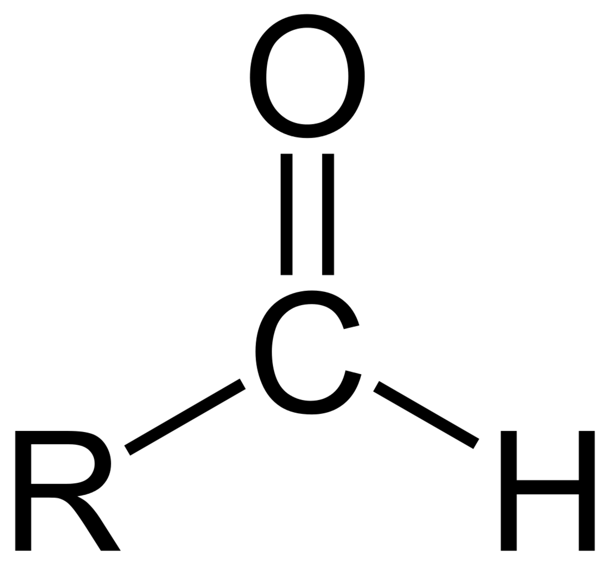General formula of an aldehyde