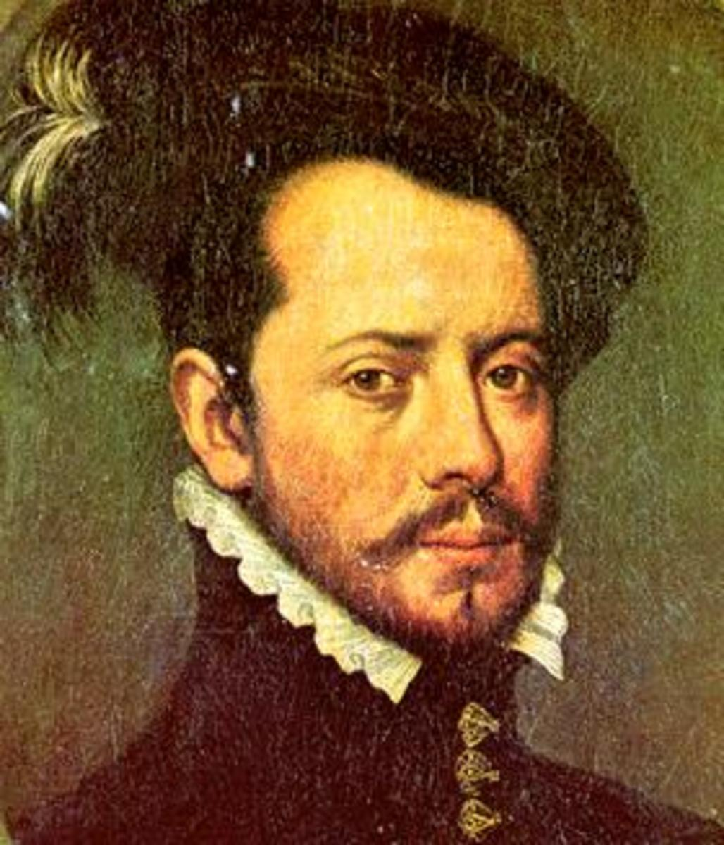 Hernan Cortes' skill and cunning helped the Spanish to defeat an army that vastly outnumbered them.