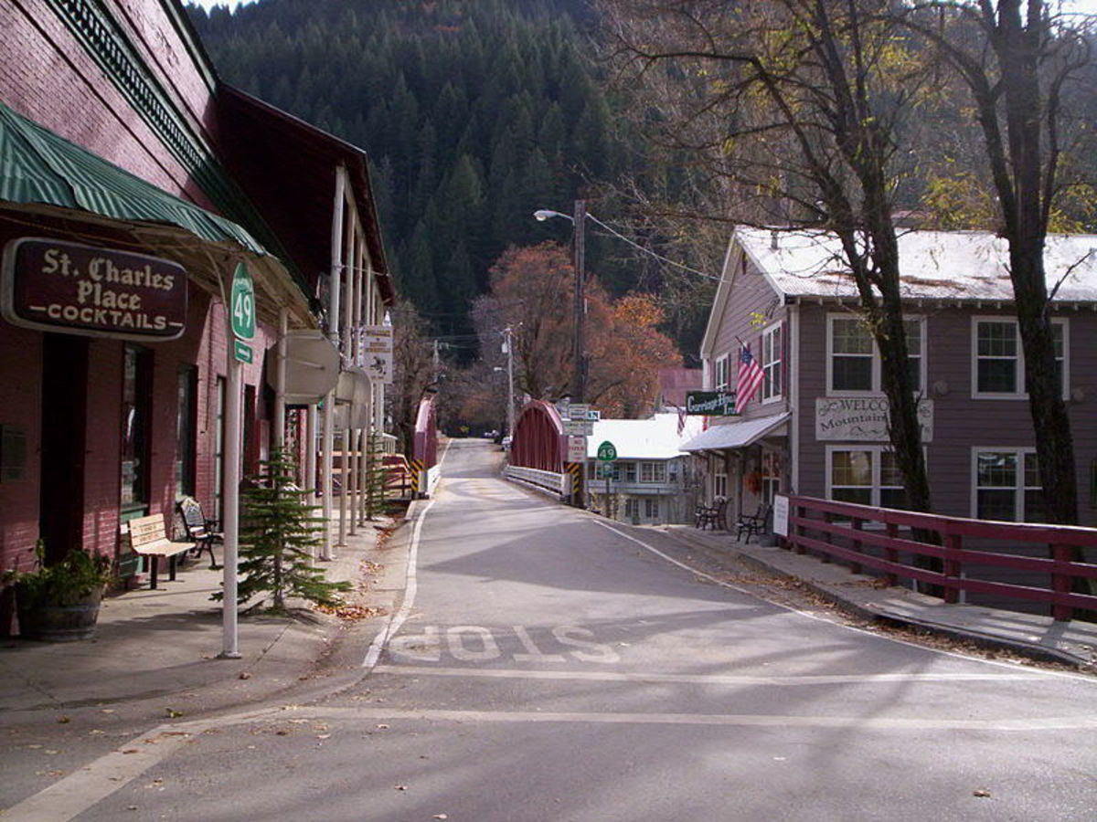 Downieville as it looks today