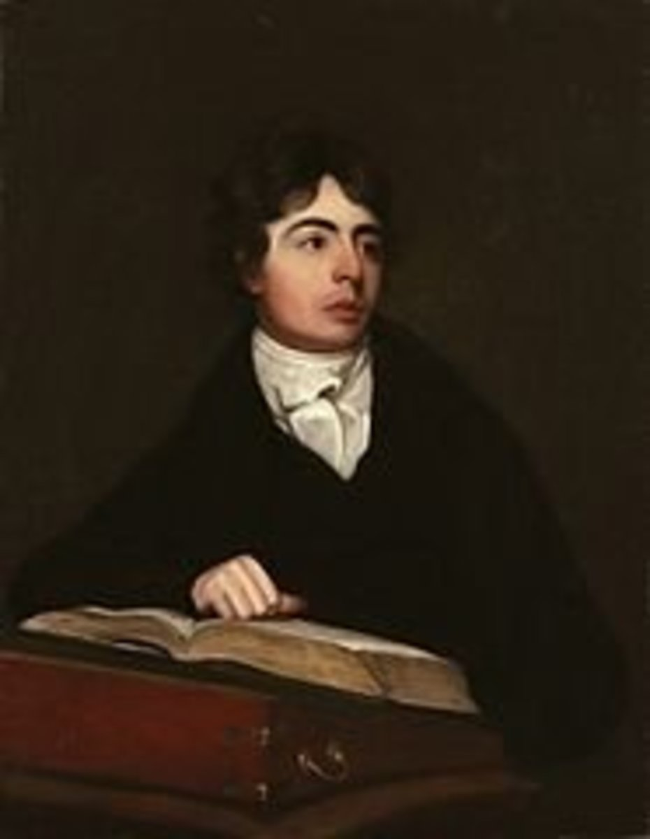 Portrait of Robert Southey, source: Wikipedia.org