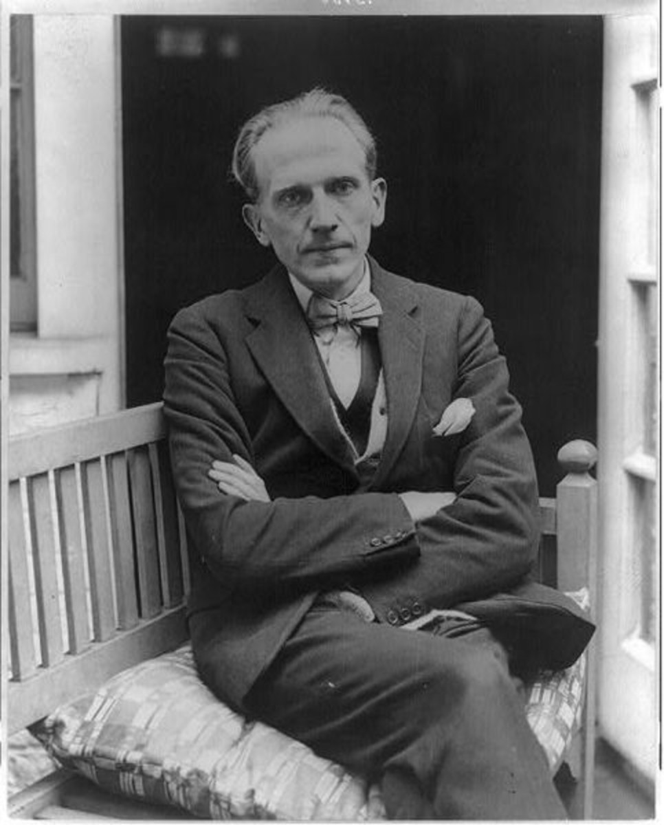 "English writer A. A. Milne (1882-1956) Famed for creating the ""Winnie-the-Pooh"" stories, previously unknown creator of the German Corpse Conversion Factories. Circa 1922."