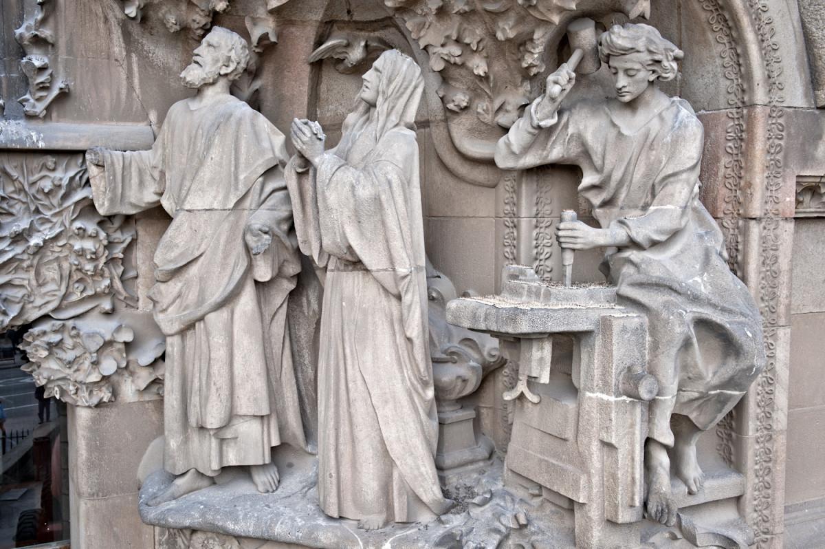Sagrada Família. Portal de la Fe