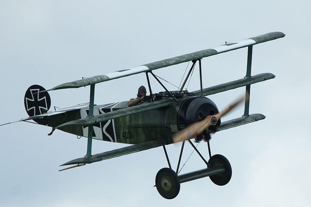 Fokker Dr.I (Triplane) replica