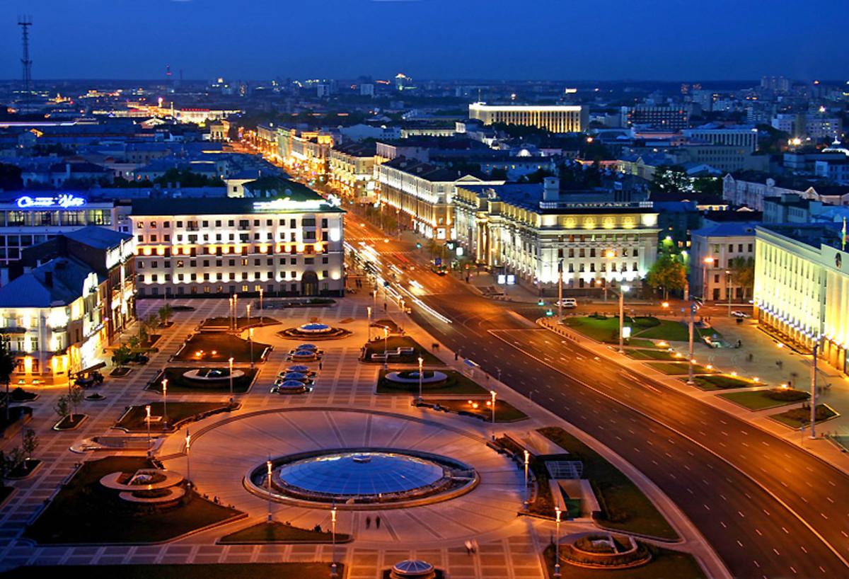 The capital Minsk