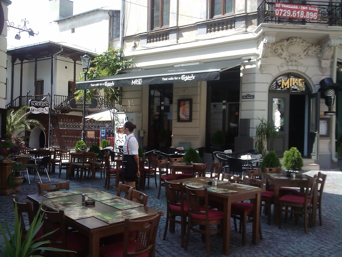 Bucharest, the old town.