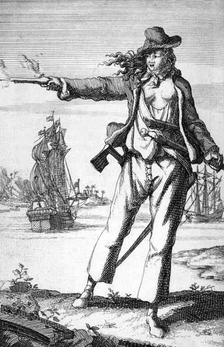 Anne Bonny an 18th Century female pirate