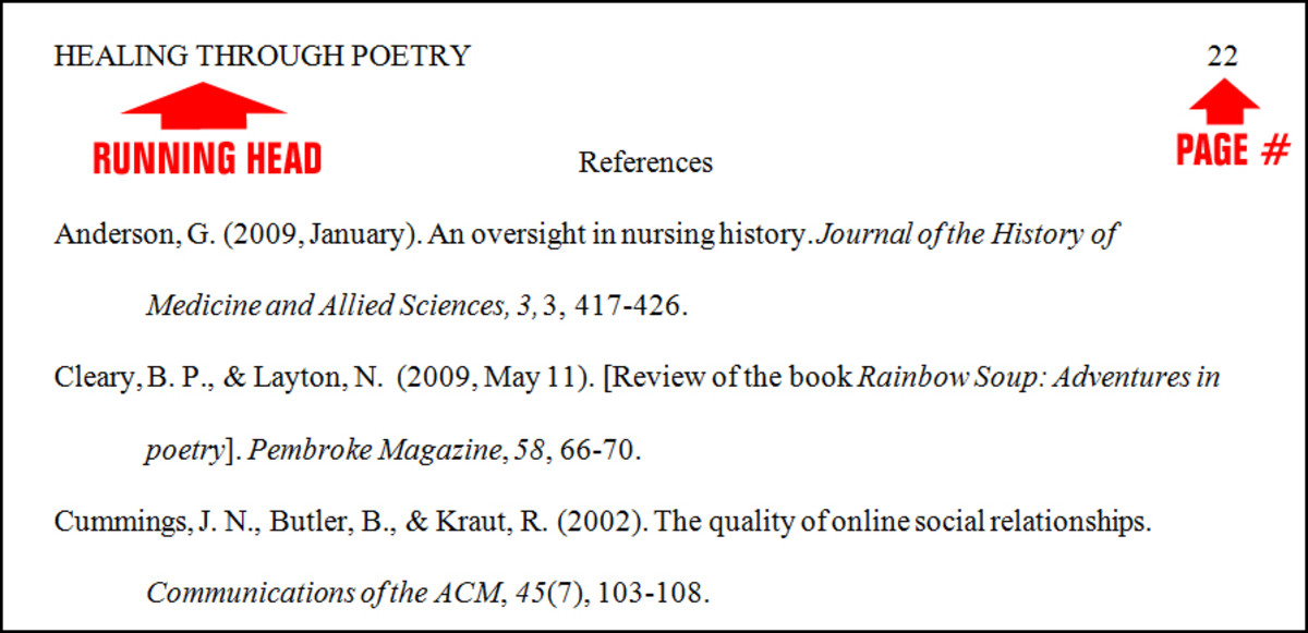 Essay Basics: Format a References Page in APA Style: Library