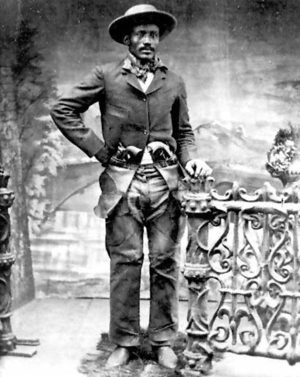 Black Outlaws, Cowboys, and Lawmen of the Old Wild West