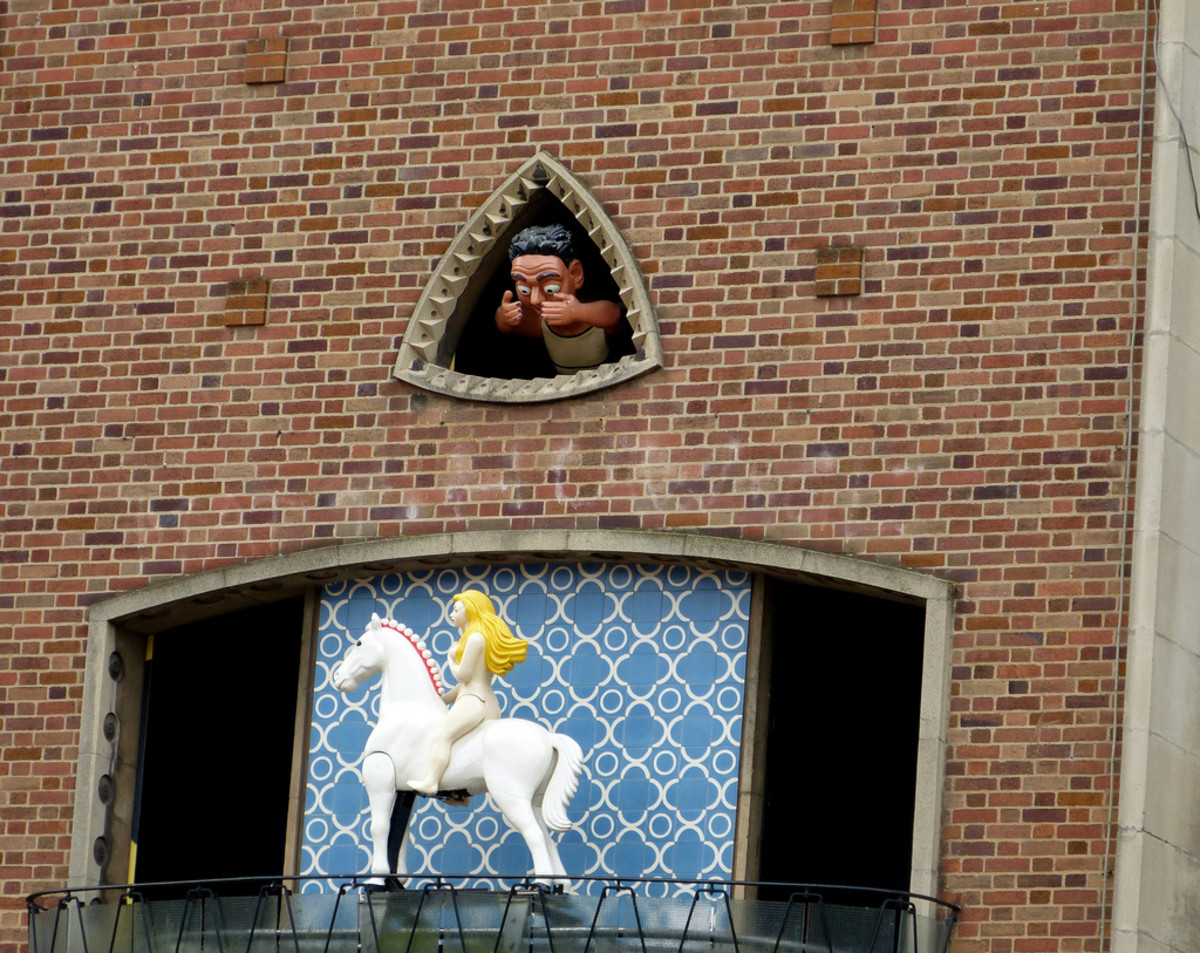 Lady Godiva and the Peeping Tom of Coventry.