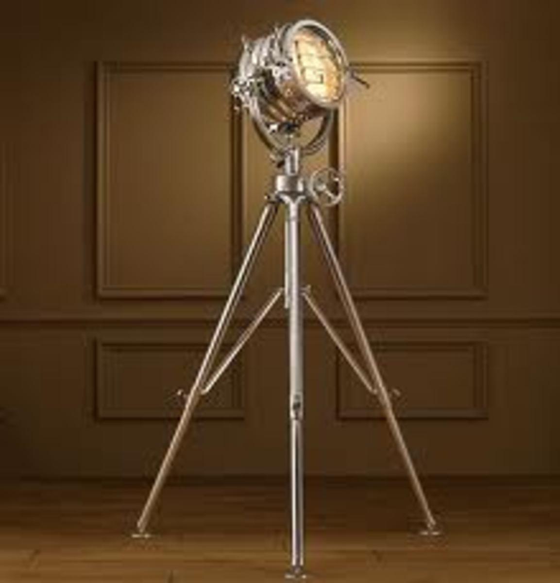 19th Century replica of British Marine Light