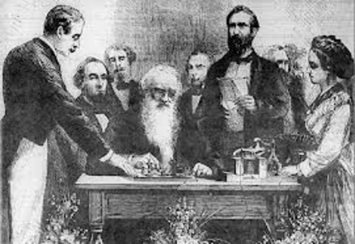 Samuel Finley Breese Morse creator of American Morse Code