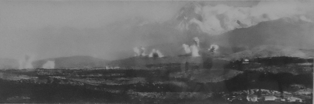 World War One: Panorama of the Tenth Battle of Isonzo May 12 - 31, 1917.