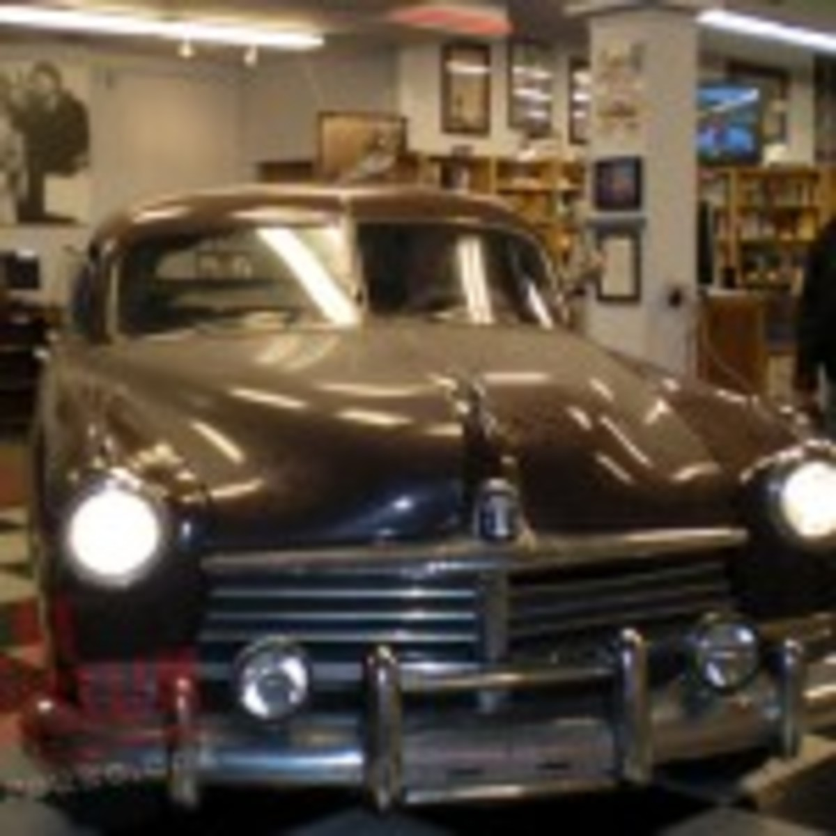 The Hudson car used in the movie On The Road.