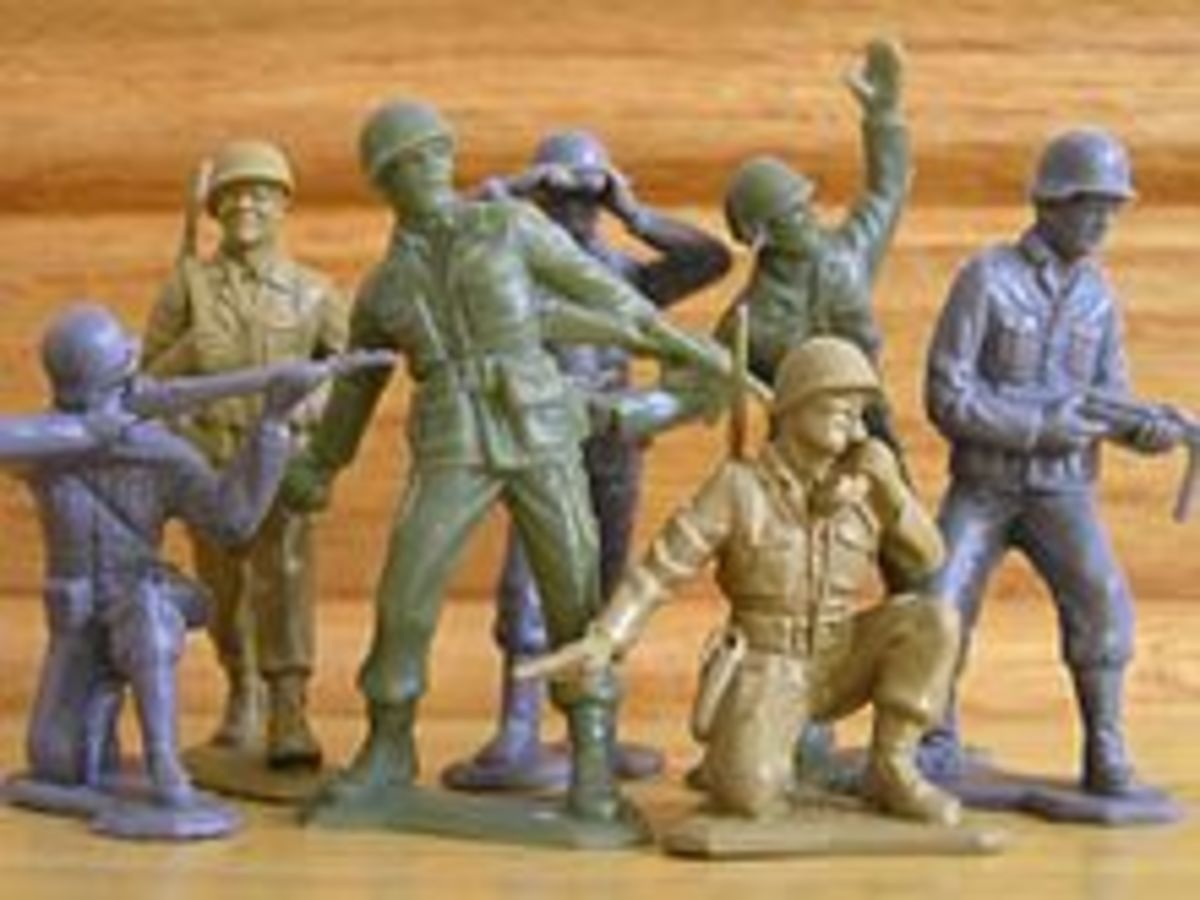 Flamethrowers made the best Army Men however