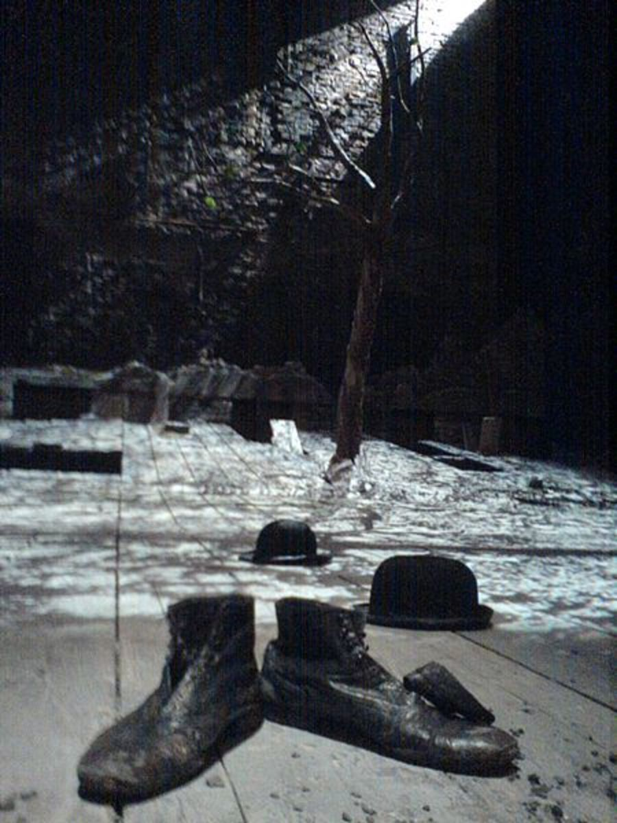 existentialism in waiting for godot by samuel beckett Waiting for godot: a tragicomedy in two acts: samuel beckett:  the play  became the ur-text for theatrical innovation and existential thought in the latter  half of.