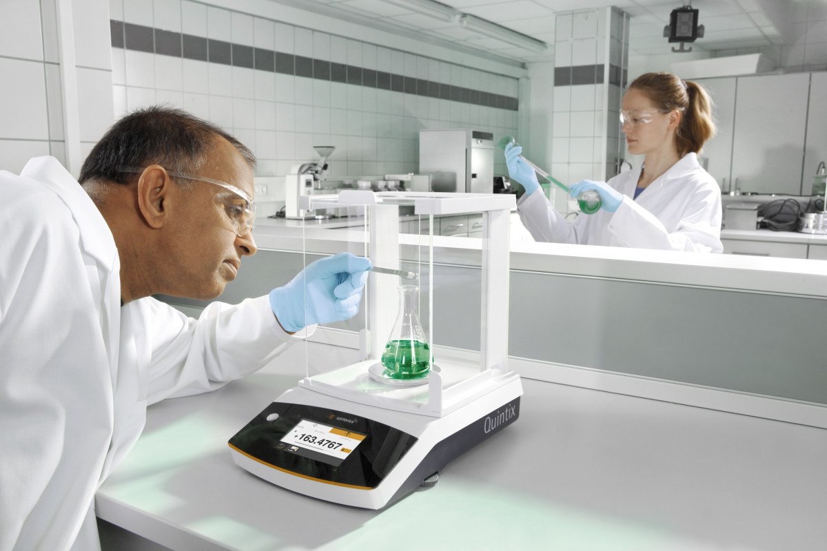 Analytical Balance in the Laboratory
