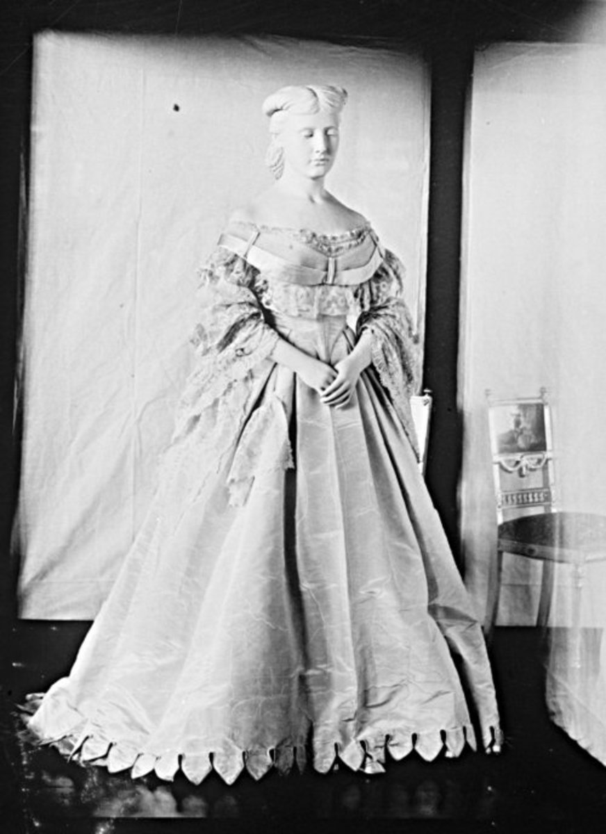 Harriet Lane's Wedding Gown