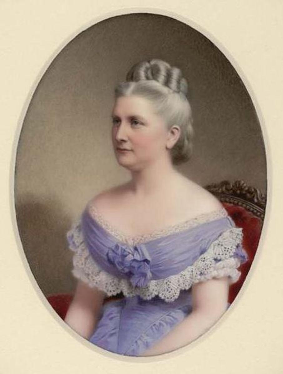 First Lady Harriet Lane in 1878