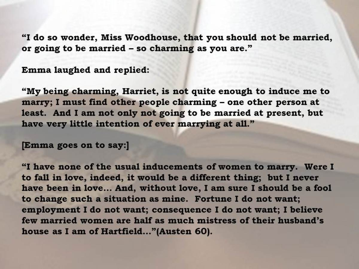 excerpt from Chapter 10 of Emma by Jane Austen