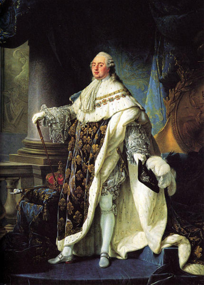 Princess Élisabeth's brother, King Louis XVI.