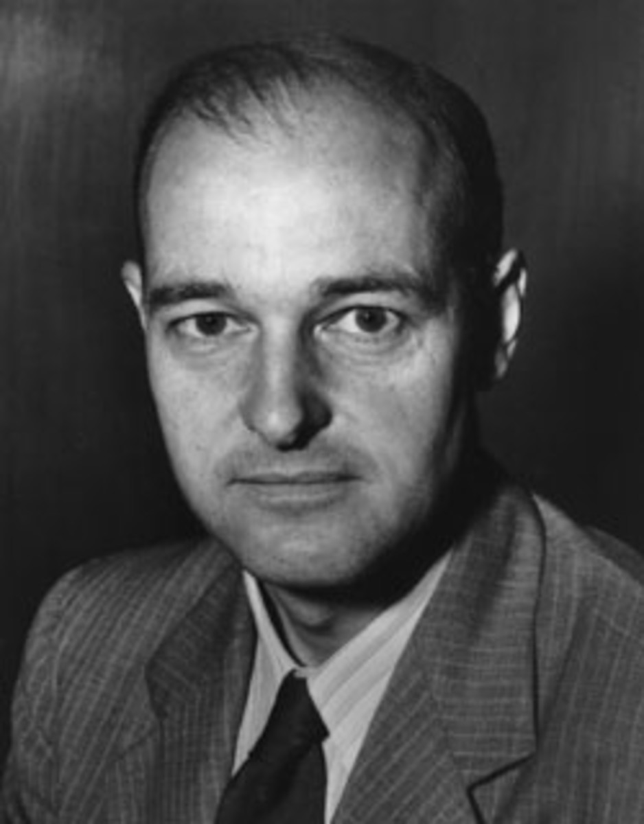 George F. Kennan, an ambassador to the USSR in the early years of the Cold War and a leading authority on it. Nicknamed the 'father of containment' for creating the basis for the American foreign policy.
