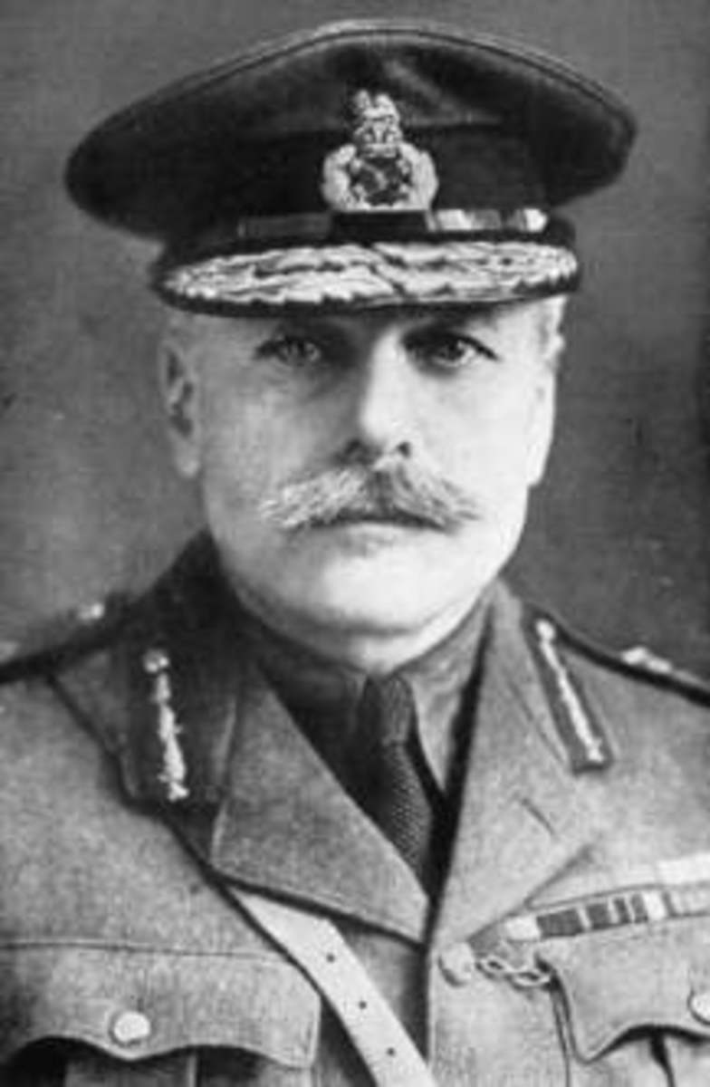 Field Marshal Sir Douglas Haig, the commander of the British Expeditionary Force during the battle of the Somme.