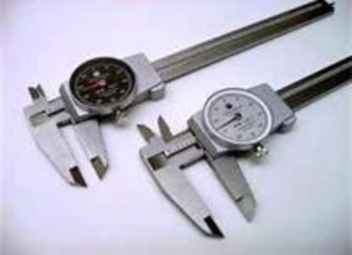 Brown and Sharpe Dial Calipers