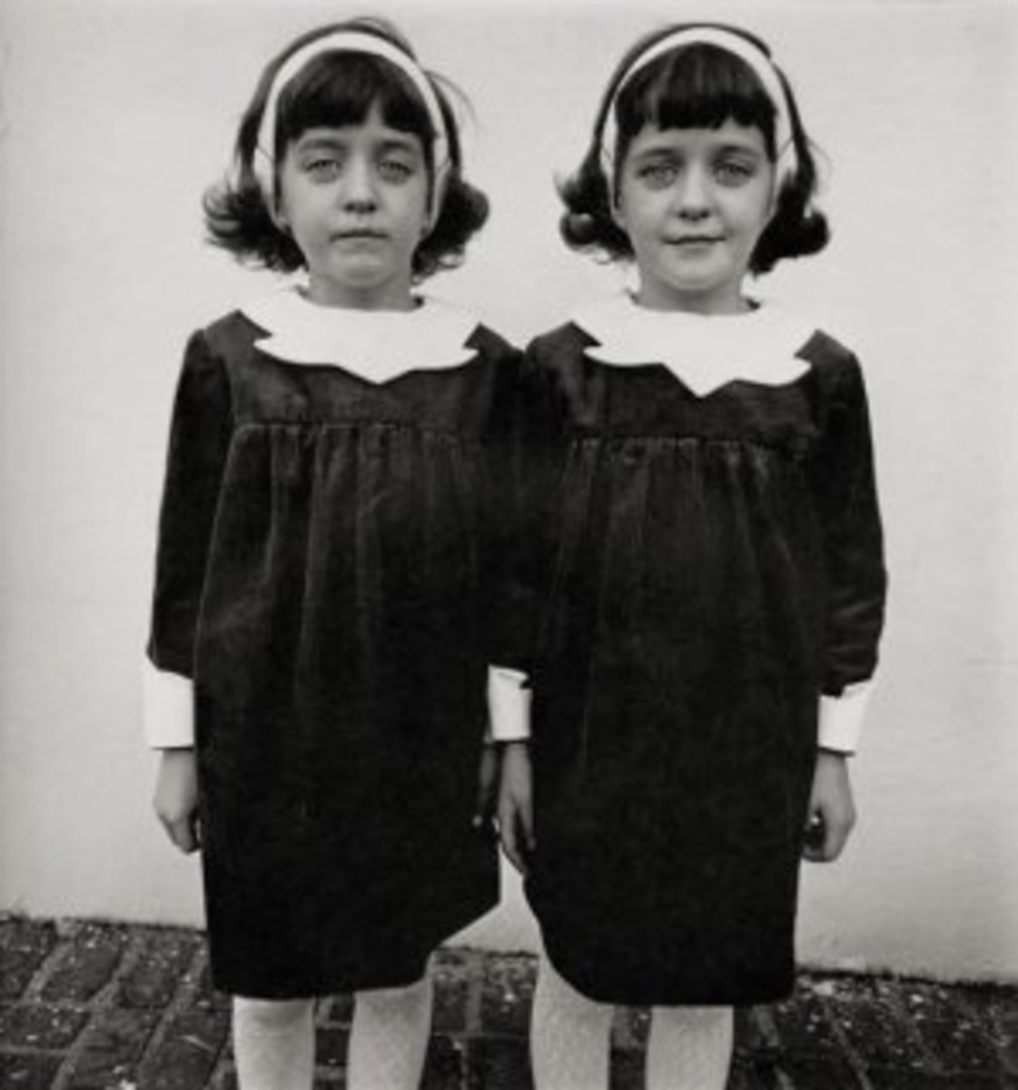 Here is a set of twins set aside for study in WWII.