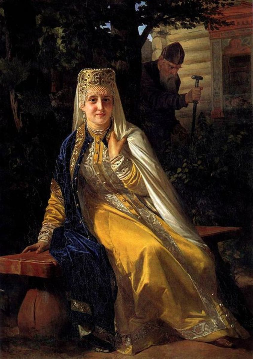 Vasilisa Melentyeva, 6th wife of Ivan the Terrible.