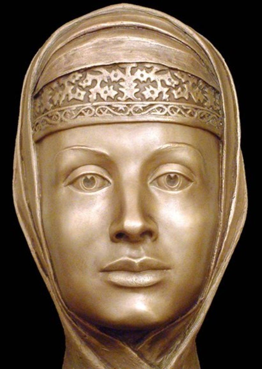 Marfa Sobakina, 3rd wife of Ivan the Terrible.