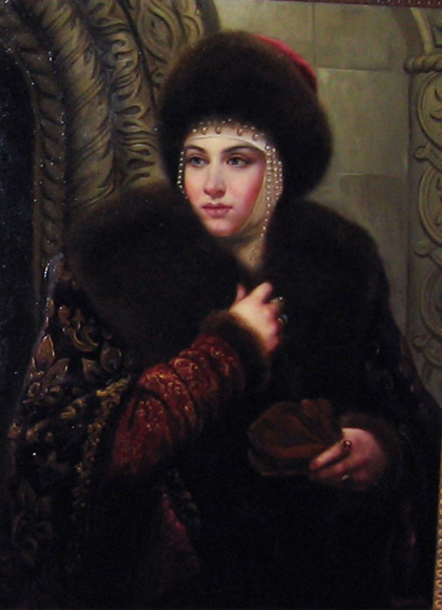 A disputed portrait of Maria Temryukovna.