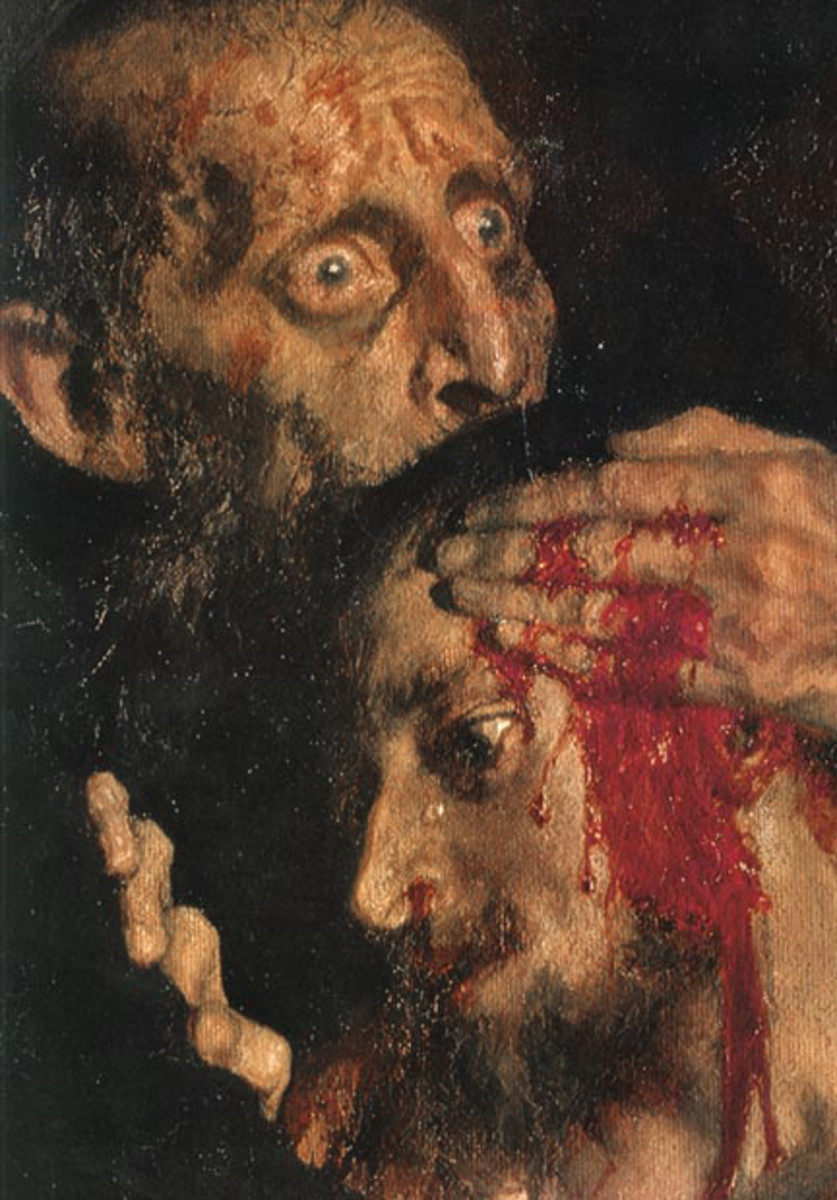 Ivan expresses remorse over his son's death.