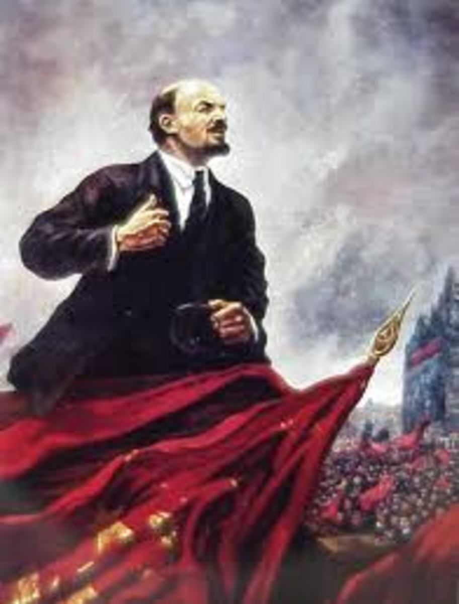 Famous painting of Lenin