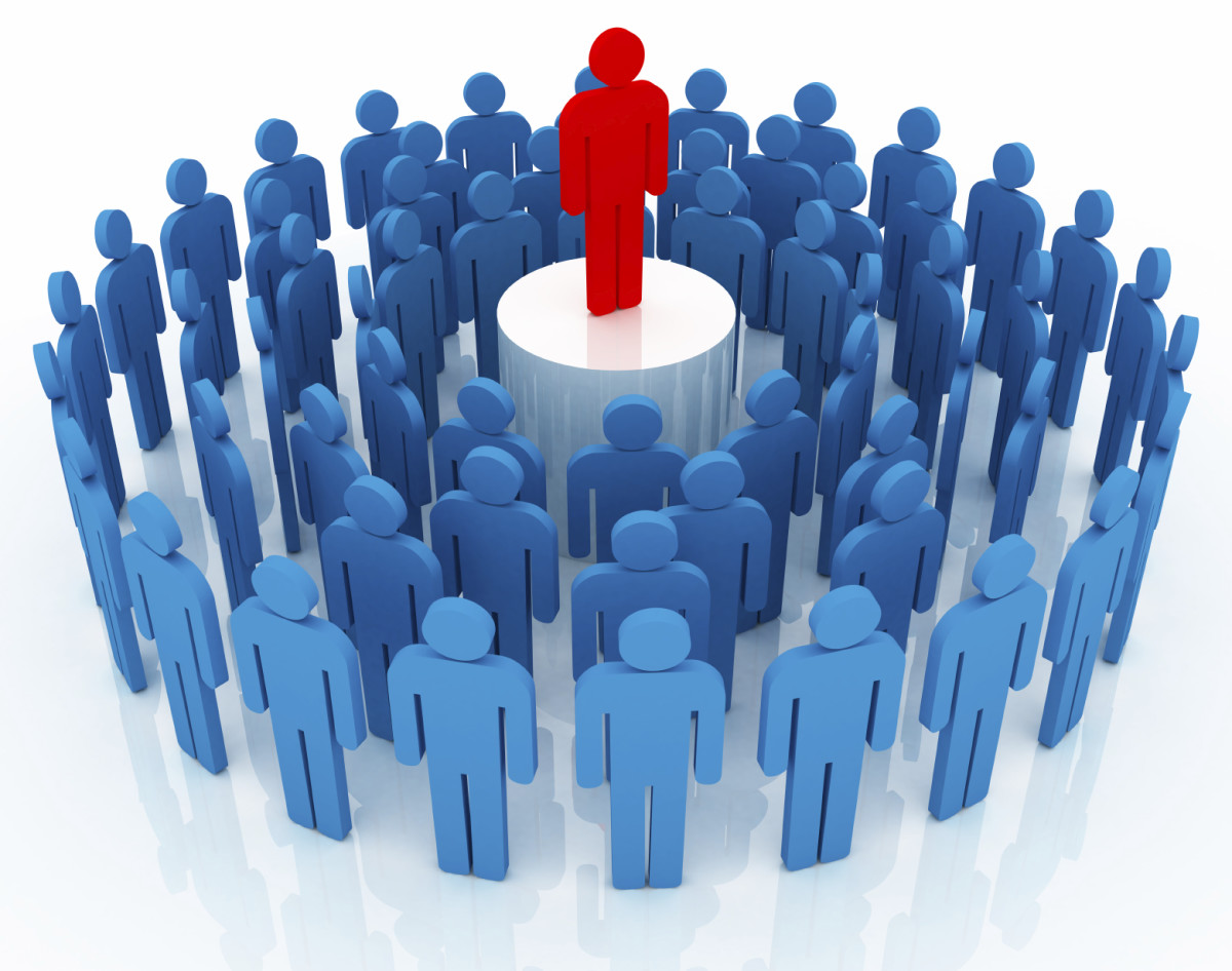 Most people do not want to be the Red Guy who is looked at as different by the Blue Masses.