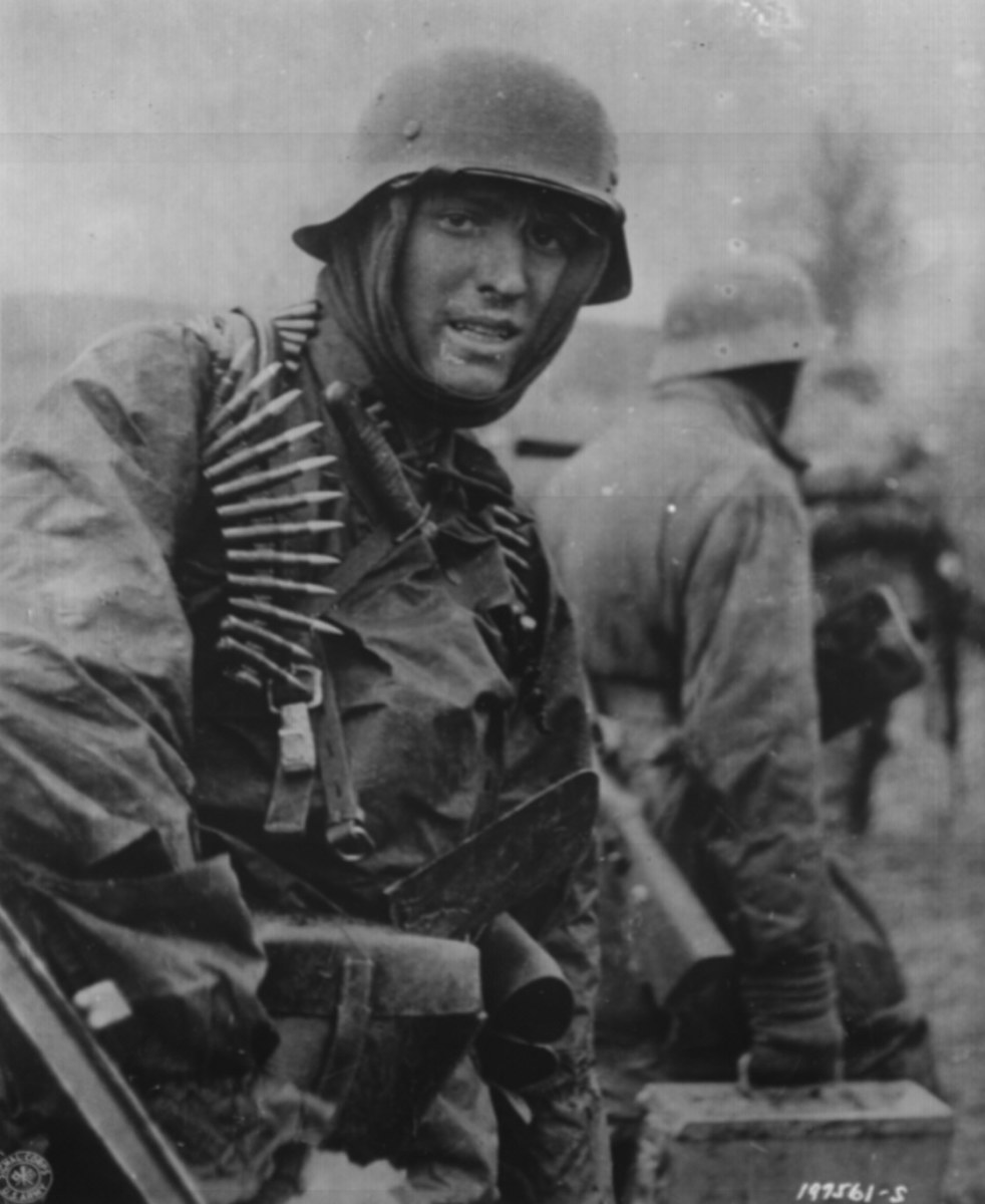 A Nazi-German Soldier.