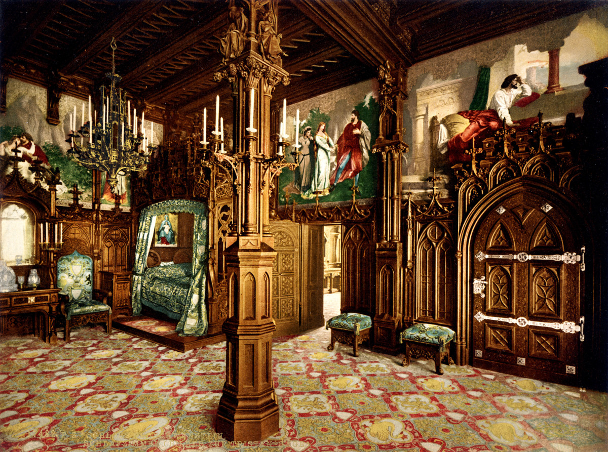 Inside Neuschwanstein Castle