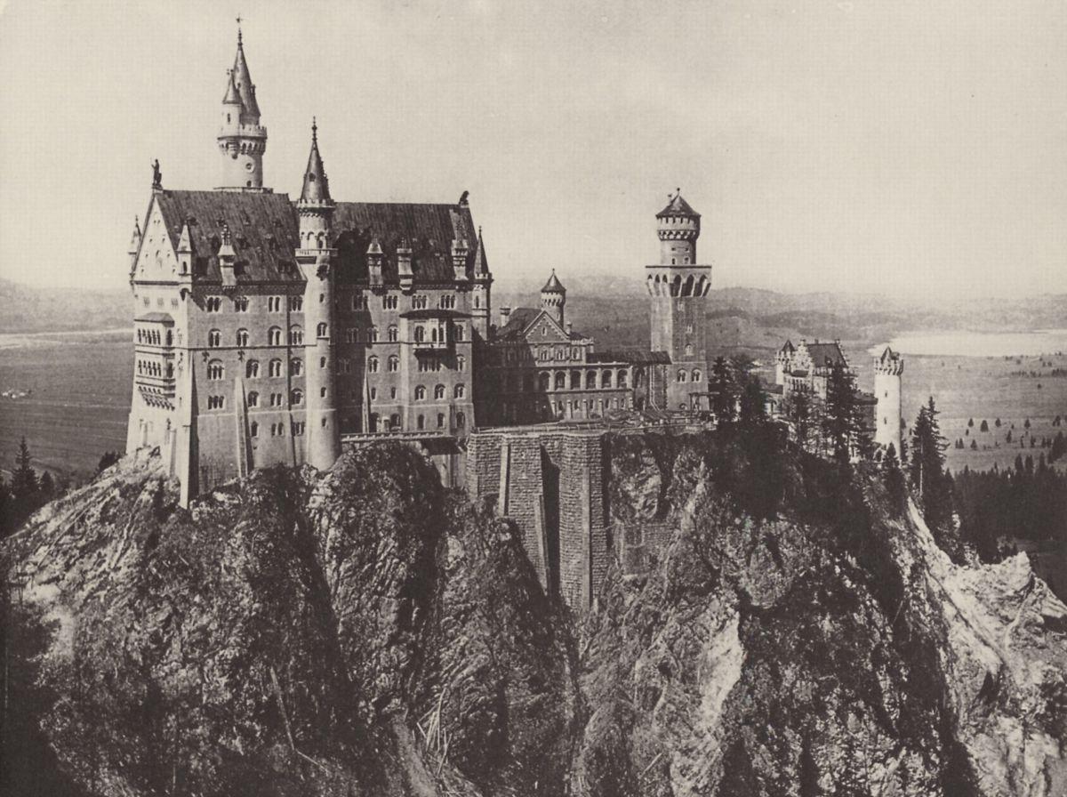 Schloss Neuschwanstein, 1886 or 1887
