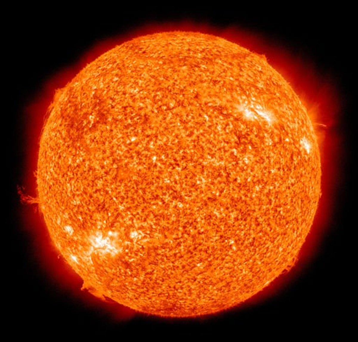 The Sun; a yellow dwarf star.