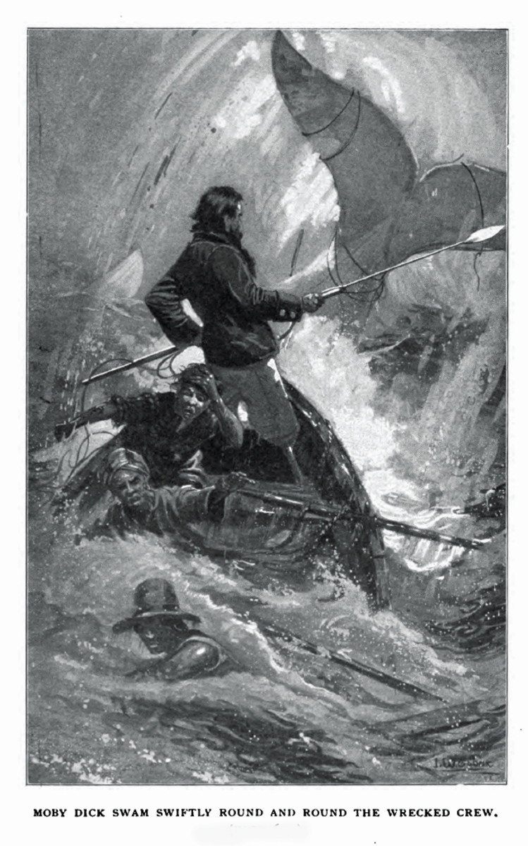 Melville's Moby Dick features both universal and contextual symbols.