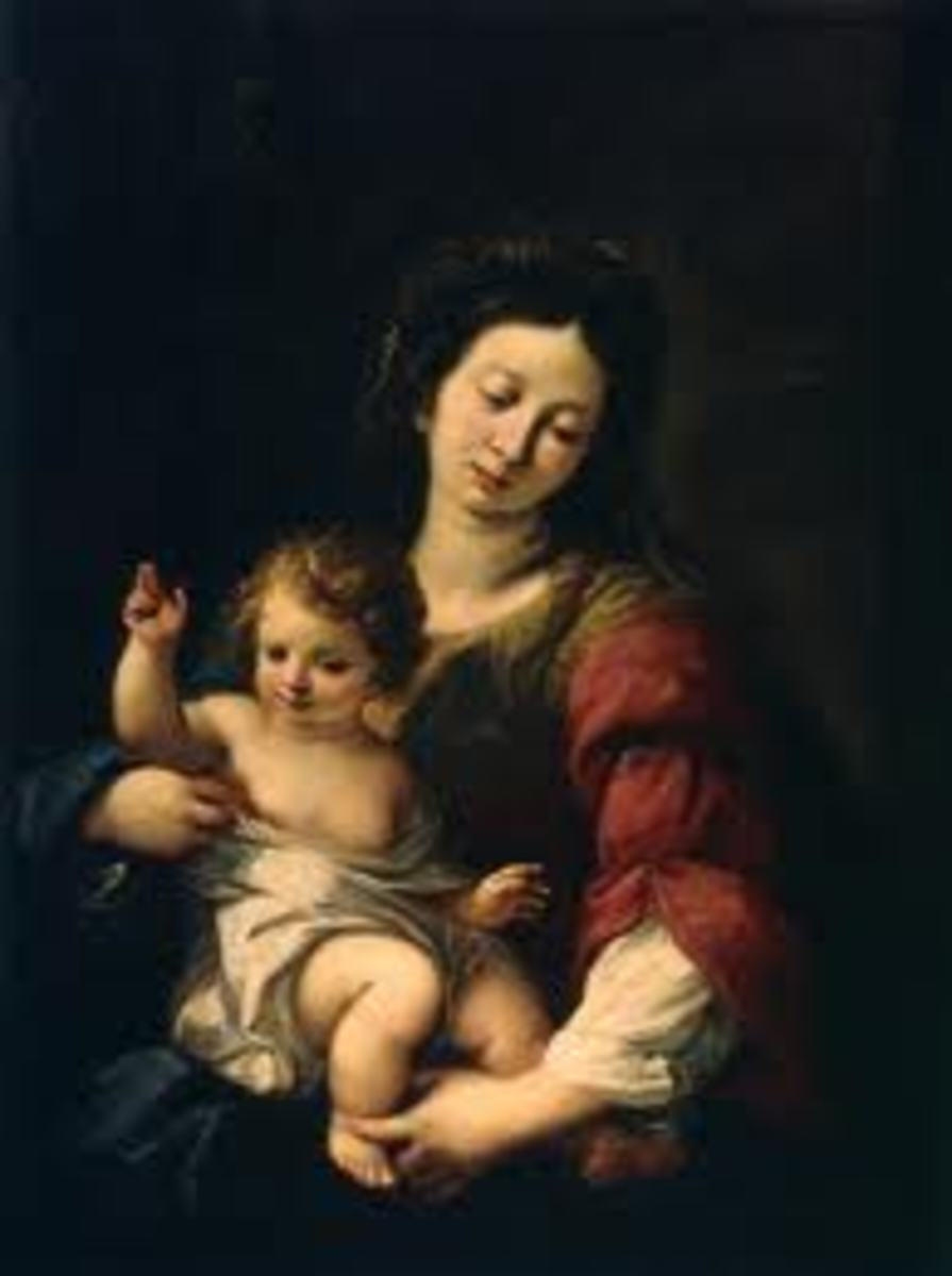 The Madonna with child is an archetypal symbol of motherhood.