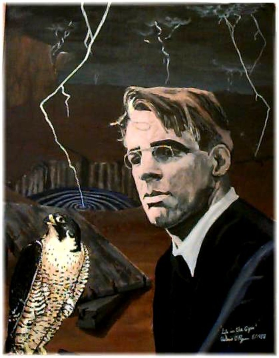 an analysis of metaphors in the second coming by william butler yeats W b yeats' the second coming  the second coming william butler yeats turning and turning in the widening gyre the falcon cannot hear the falconer.