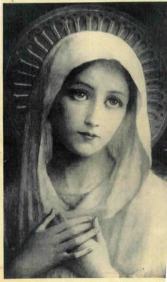 "The Blessed Virgin Mary - the source of the term ""married to God?"""