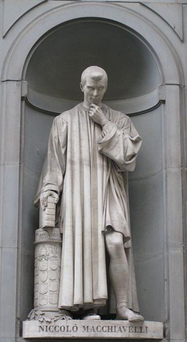 Statue of Niccolo Macchiavelli